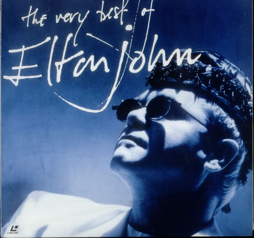 Elton John The Very Best Of Elton John Japanese Laserdisc