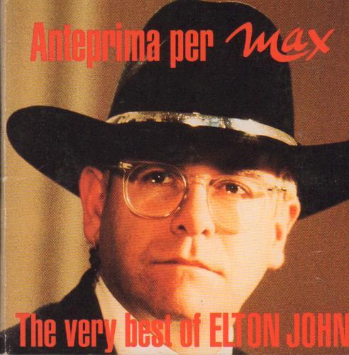 Elton John The Very Best Of Elton John Italian Promo 3