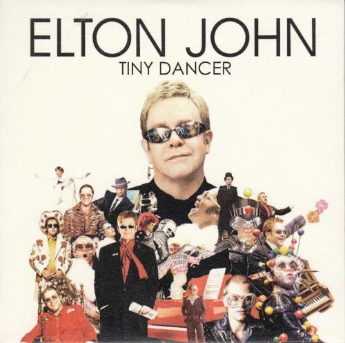 Elton John Tiny Dancer CD-R acetate UK JOHCRTI691073