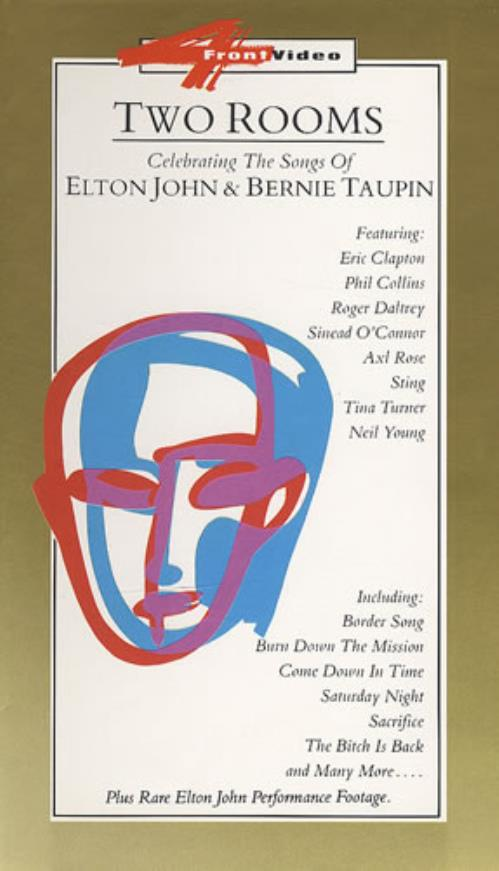 Elton John Two Rooms video (VHS or PAL or NTSC) UK JOHVITW198532