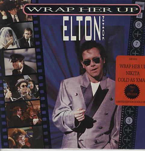 "Elton John Wrap Her Up - Double Pack 12"" vinyl single (12 inch record / Maxi-single) UK JOH12WR86399"