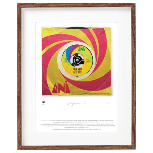 Elton John Your Song - SuperSizeArt Numbered Print artwork UK JOHARYO731128