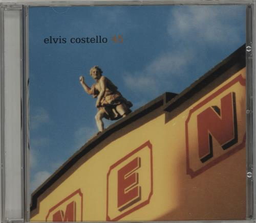 """Elvis Costello 45 (Forty Five) CD single (CD5 / 5"""") US COSC5FO221341"""