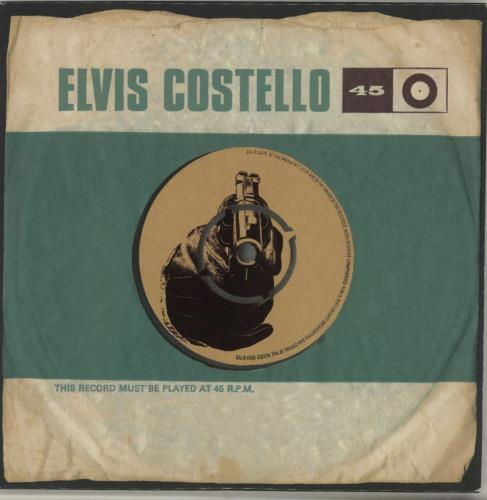 "Elvis Costello 45 - Forty Five CD single (CD5 / 5"") UK COSC5FO227858"