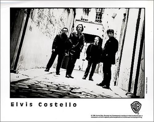 Elvis Costello All This Useless Beauty media press pack US COSPPAL366439