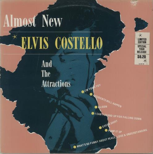 Elvis Costello Almost New - EX vinyl LP album (LP record) Australian COSLPAL686447