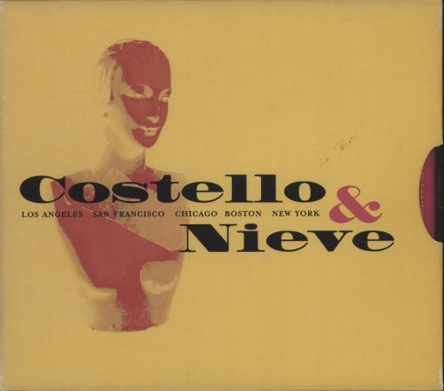 Elvis Costello Costello & Nieve CD Single Box Set US COSCXCO596294