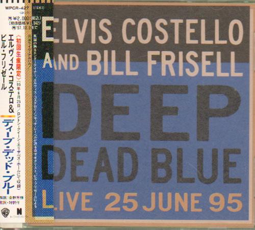 Elvis Costello Deep Dead Blue CD album (CDLP) Japanese COSCDDE159260