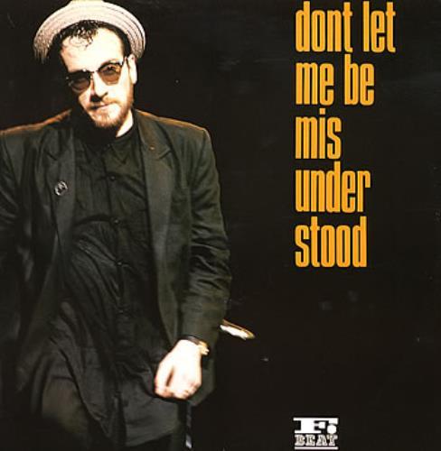 "Elvis Costello Don't Let Me Be Misunderstood 12"" vinyl single (12 inch record / Maxi-single) UK COS12DO90064"
