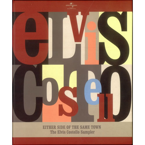 Elvis Costello Either Side Of The Same Town - The Elvis Costello Sampler 2 CD album set (Double CD) UK COS2CEI523492