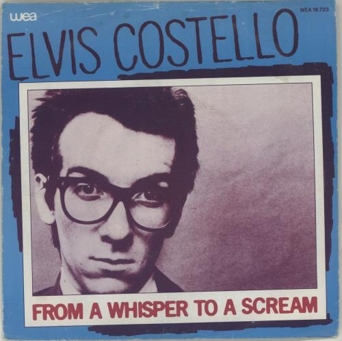 """Elvis Costello From A Whisper To A Scream 7"""" vinyl single (7 inch record) Dutch COS07FR686437"""