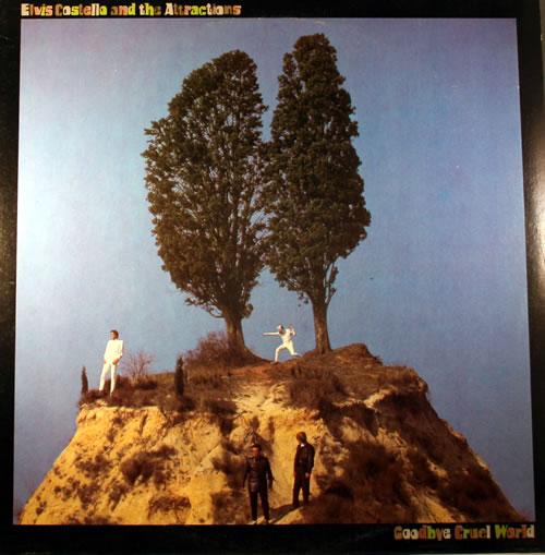 Elvis Costello Goodbye Cruel World vinyl LP album (LP record) Italian COSLPGO561820