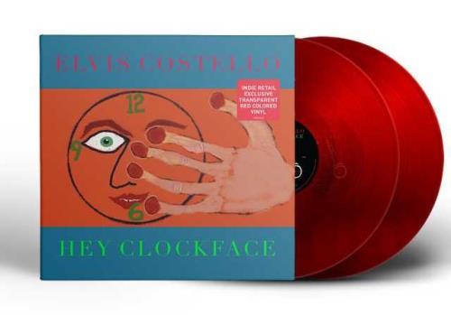 Elvis Costello Hey Clockface - Red Vinyl - Sealed 2-LP vinyl record set (Double Album) UK COS2LHE756939
