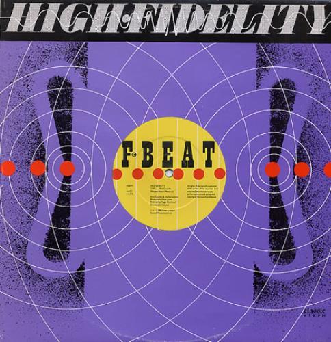 "Elvis Costello High Fidelity 12"" vinyl single (12 inch record / Maxi-single) UK COS12HI115698"