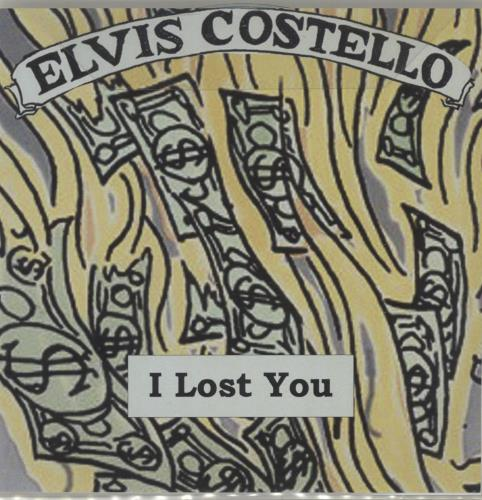Elvis Costello I Lost You CD-R acetate UK COSCRIL686465