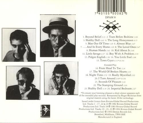 Elvis Costello Imperial Bedroom Tour