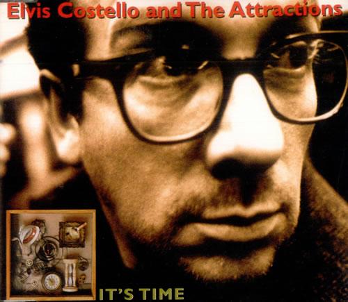 """Elvis Costello It's Time CD single (CD5 / 5"""") UK COSC5IT100027"""
