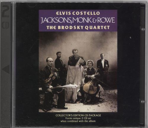 "Elvis Costello Jacksons Monk & Rowe CD single (CD5 / 5"") UK COSC5JA54513"