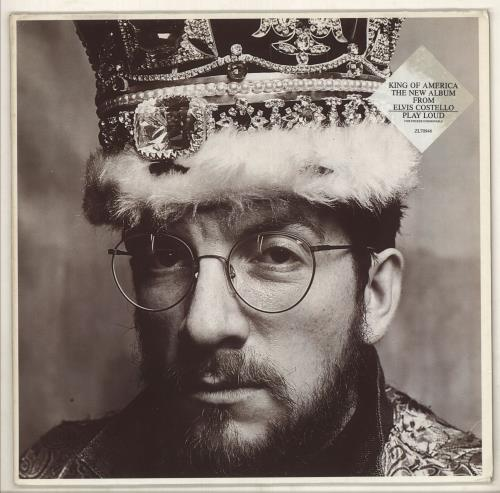 Elvis Costello King Of America - Double Stickered Sleeve vinyl LP album (LP record) German COSLPKI734927