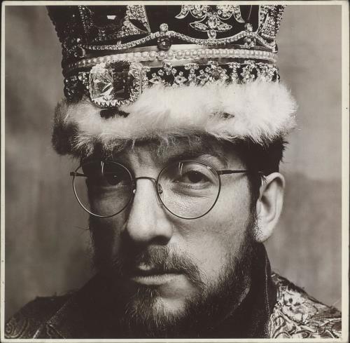 Elvis Costello King Of America vinyl LP album (LP record) German COSLPKI287933