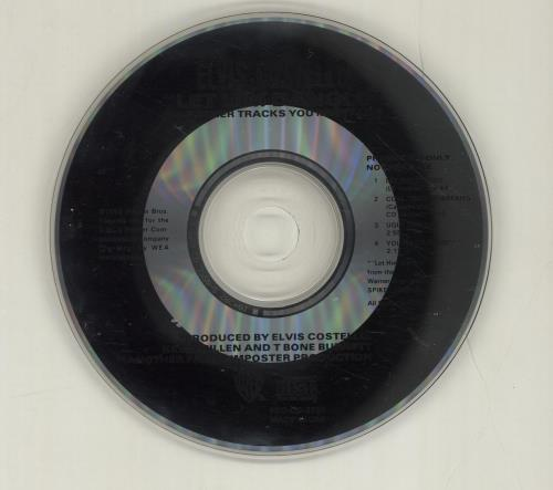 """Elvis Costello Let Him Dangle Plus Other Tracks CD single (CD5 / 5"""") US COSC5LE34913"""