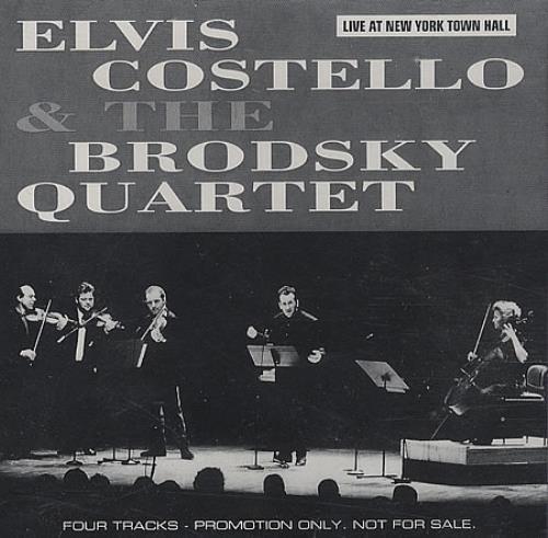 "Elvis Costello Live At New York Town Hall CD single (CD5 / 5"") US COSC5LI63381"
