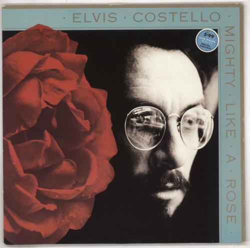 Elvis Costello Mighty Like A Rose - EX vinyl LP album (LP record) UK COSLPMI546640