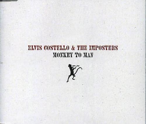 "Elvis Costello Monkey To Man CD single (CD5 / 5"") UK COSC5MO308469"