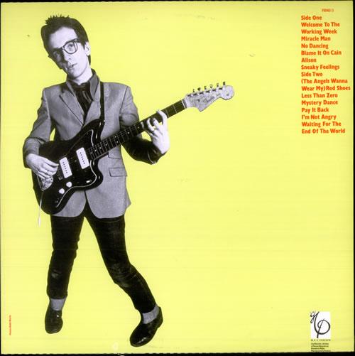 Elvis Costello My Aim Is True vinyl LP album (LP record) UK COSLPMY519077