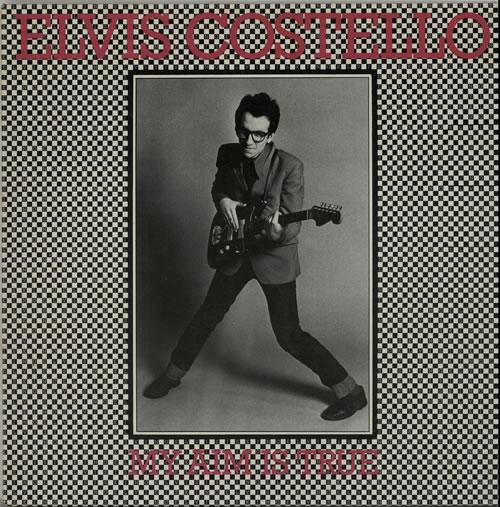 Elvis Costello My Aim Is True vinyl LP album (LP record) Dutch COSLPMY626689