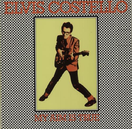 Elvis Costello My Aim Is True vinyl LP album (LP record) UK COSLPMY686459