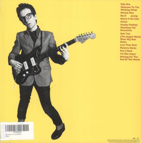 Elvis Costello My Aim Is True vinyl LP album (LP record) UK COSLPMY741306