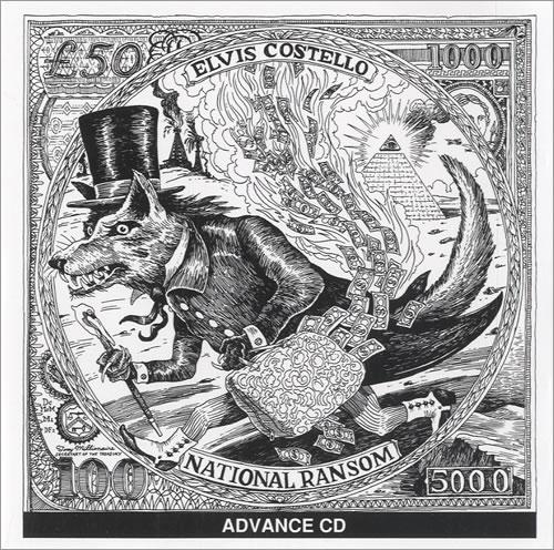 Elvis Costello National Ransom CD album (CDLP) US COSCDNA522497