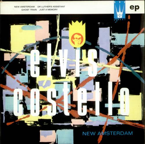 "Elvis Costello New Amsterdam EP 7"" vinyl single (7 inch record) UK COS07NE42582"