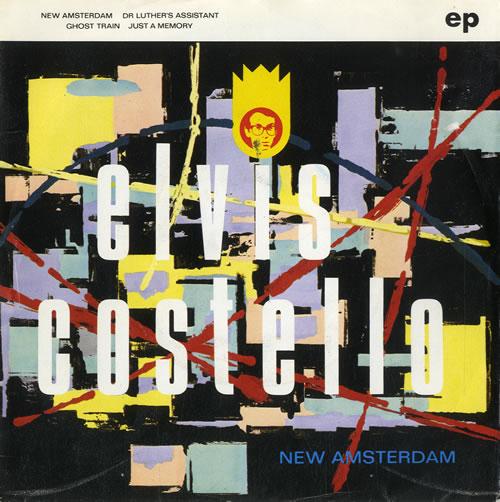 "Elvis Costello New Amsterdam EP 7"" vinyl single (7 inch record) Dutch COS07NE574915"