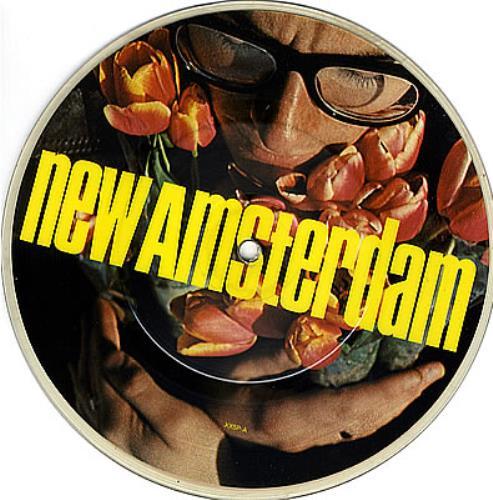 "Elvis Costello New Amsterdam 7"" vinyl picture disc 7 inch picture disc single UK COS7PNE42594"