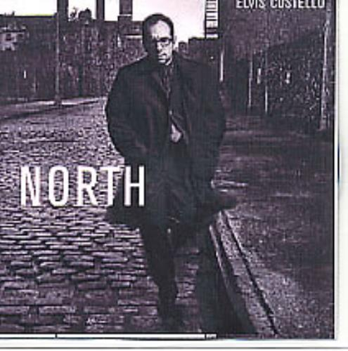 Elvis Costello North - CD-R and press release media press kit UK COSKINO257532