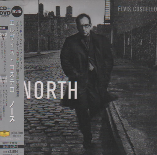 Elvis Costello North 2-disc CD/DVD set Japanese COS2DNO637614