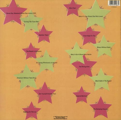 Elvis Costello Out Of Our Idiot - Hype Stickered Sleeve vinyl LP album (LP record) UK COSLPOU739228