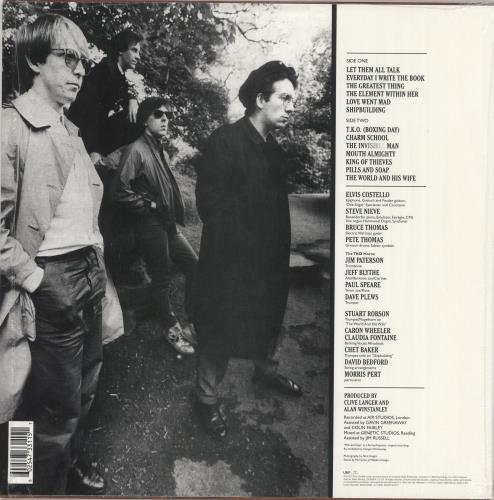 Elvis Costello Punch The Clock - 180gm Vinyl + Shrinkwrap vinyl LP album (LP record) UK COSLPPU736754