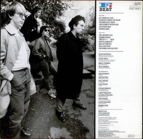 Elvis Costello Punch The Clock vinyl LP album (LP record) German COSLPPU519076