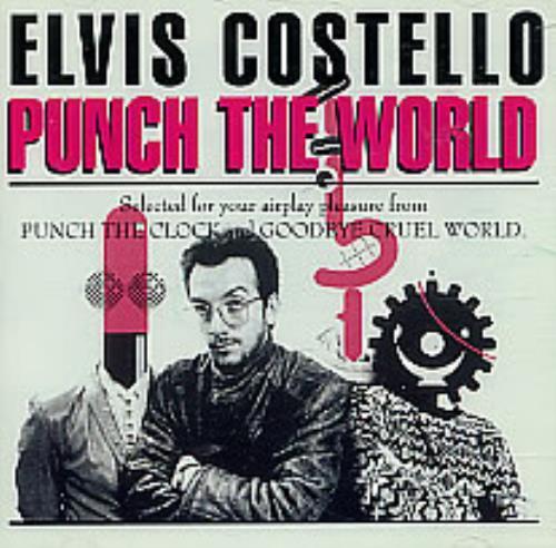 Elvis Costello Punch The World CD album (CDLP) US COSCDPU43623