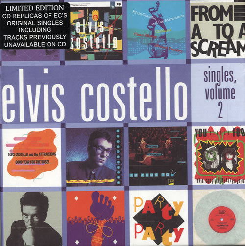 Elvis Costello Singles Volume 2 12 X Cd Single Box Uk