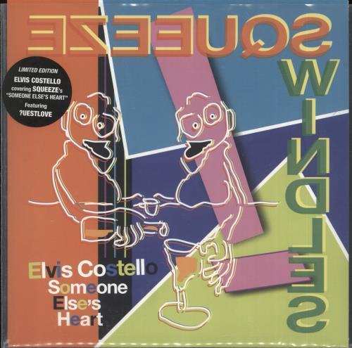 "Elvis Costello Someone Else's Heart - RSD18 7"" vinyl single (7 inch record) UK COS07SO706279"