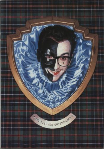 Elvis Costello Spike tour programme UK COSTRSP193223