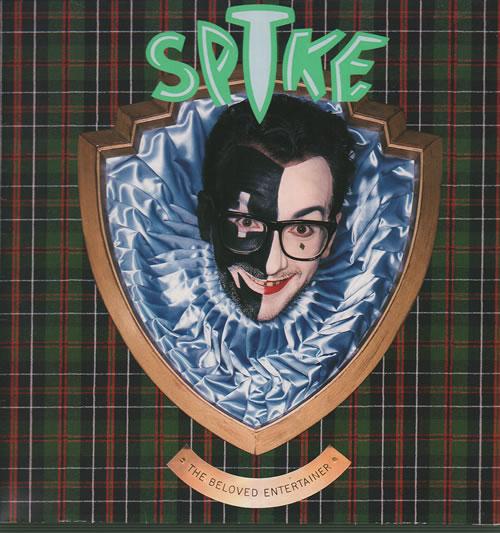 Elvis Costello Spike vinyl LP album (LP record) UK COSLPSP397851