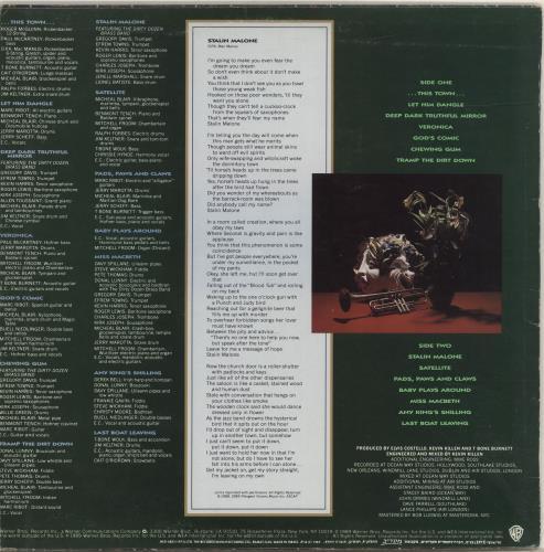 Elvis Costello Spike vinyl LP album (LP record) Israeli COSLPSP694796