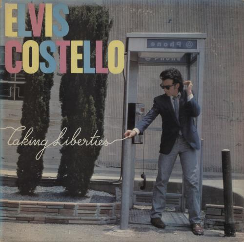 Elvis Costello Taking Liberties vinyl LP album (LP record) US COSLPTA354439