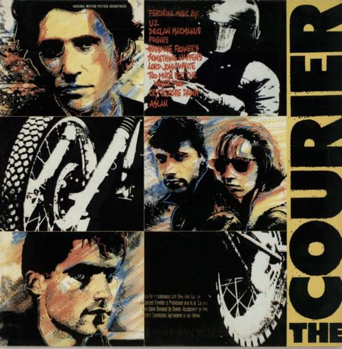 Elvis Costello The Courier vinyl LP album (LP record) US COSLPTH358491