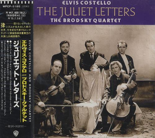 Elvis Costello The Juliet Letters CD album (CDLP) Japanese COSCDTH159232